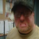 Chris Allen is STINKIN' mad-photo by Chris Allen