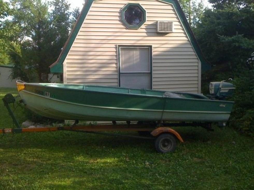 This Old Boat: My 1957 Sportland 14 Foot Aluminum