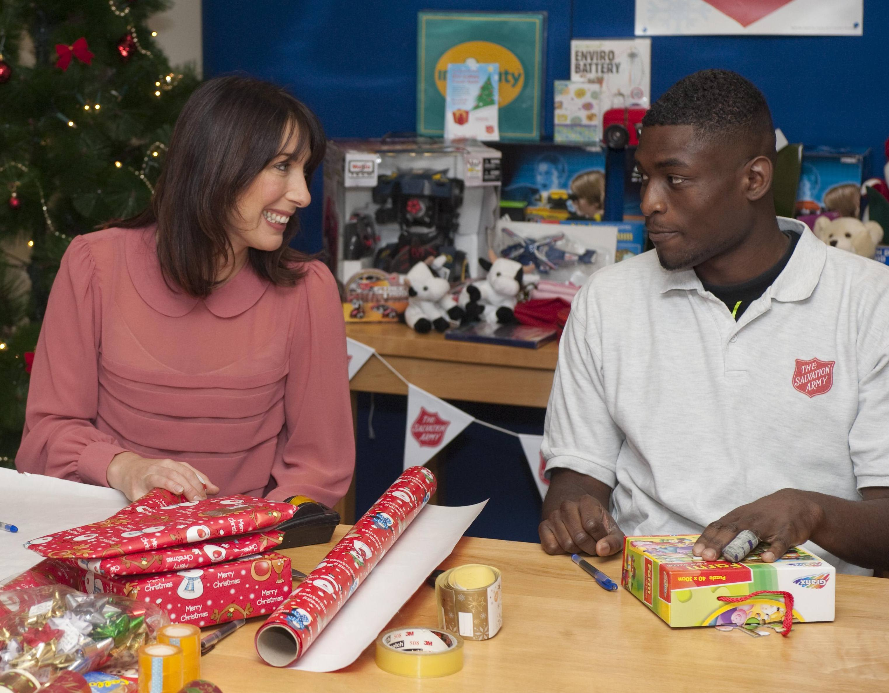 Talented Wrappers Wanted for the Salvation Army Gift Wrap Booth
