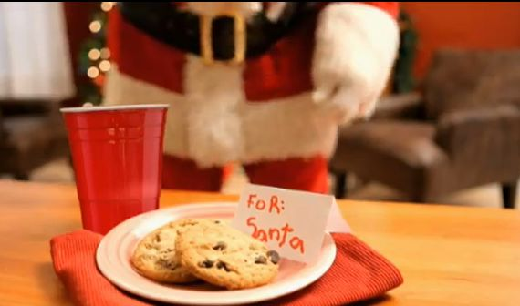 toby keith red solo cup santa style