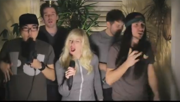 A Cappella Group Walk Off the Earth