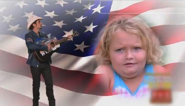 Brad Paisley Performs The Ballad of Honey Boo Boo