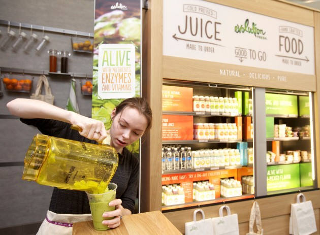green smoothies with the Duluth Public Library