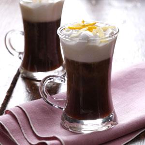taste of home's hot ginger coffee
