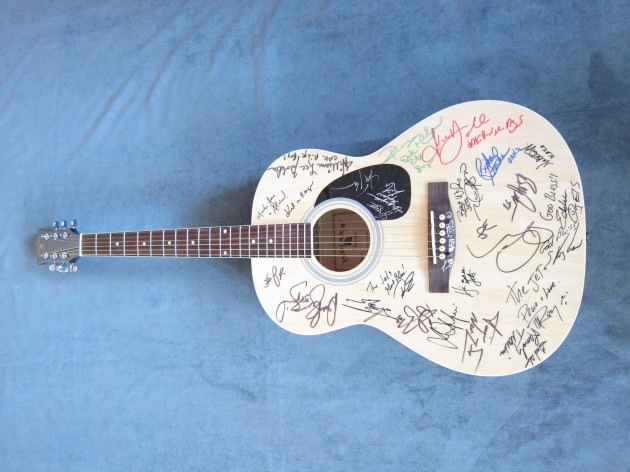 St. Jude Star Guitar