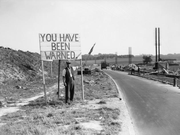 Road Construction Warning