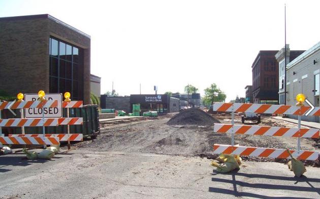 Tower Avenue Construction 2013