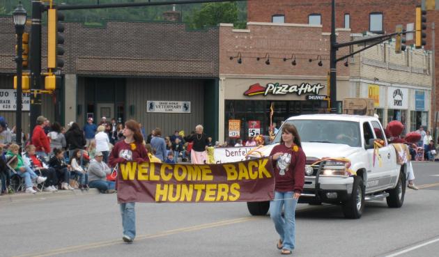 spirit valley days parade