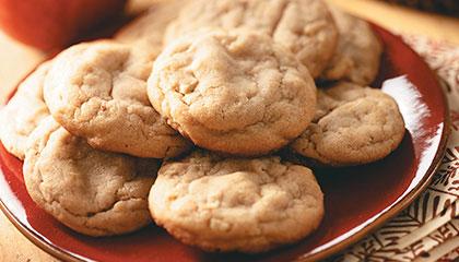 taste of home apple peanut butter cookies