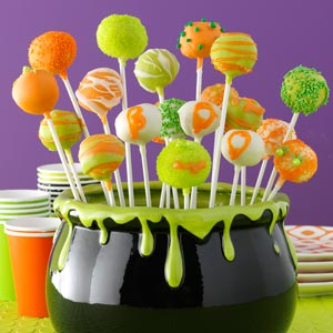 taste of home's halloween cheesecake pop