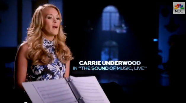 carrie underwood sound of music
