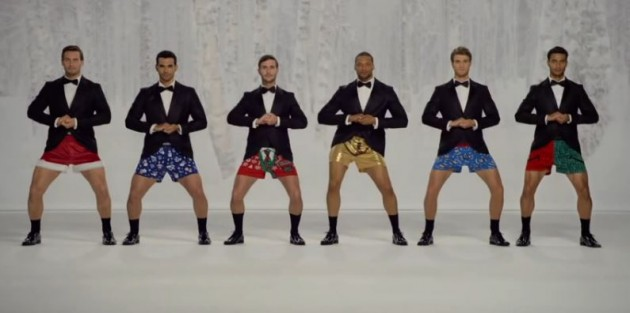 kmart holiday boxer commercial
