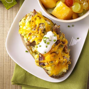 taste of home's twice baked breakfast potatoes