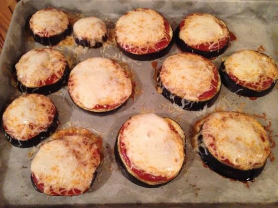 Eggplant Veggie Pizza