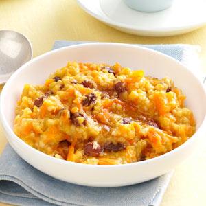 Taste of Home Carrot Cake Oatmeal