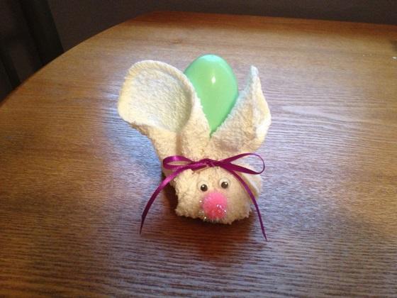 DIY Craft Easter Bunny