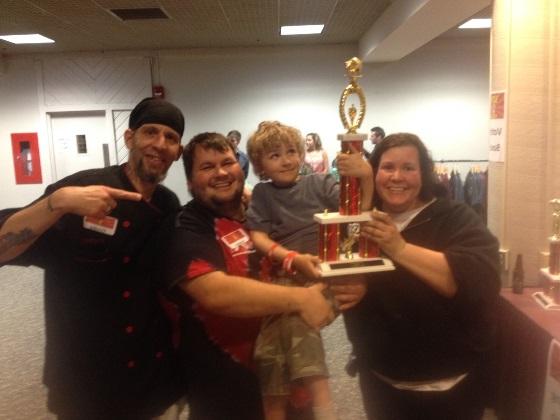 Farley's wins at Bacon Palooza