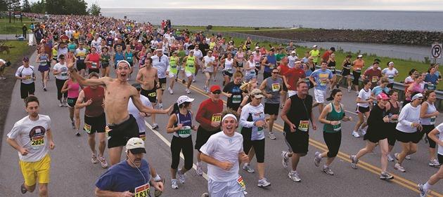 Grandma's Marathon Group Shot