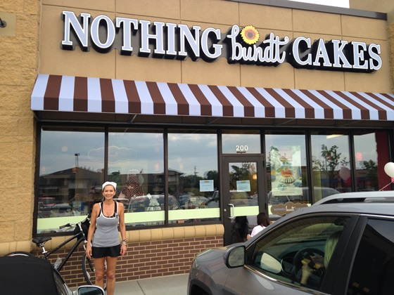 cathy at nothing bundt cakes