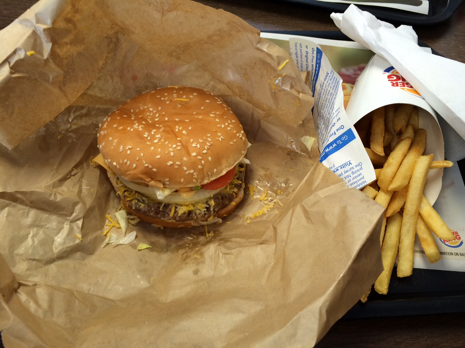 Burger Kings Four Cheese Whopper Review Its A Messy But Tasty