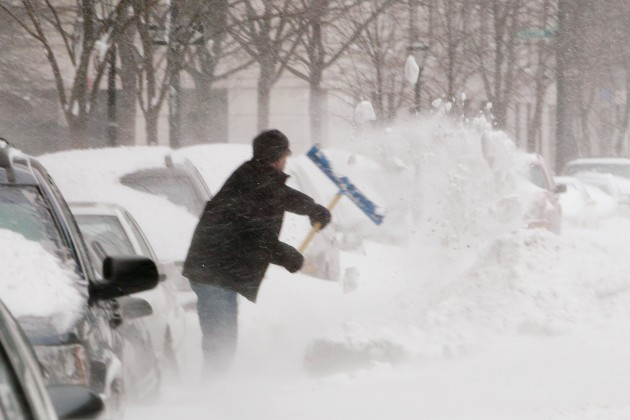 Winter Storm Hits East Coast