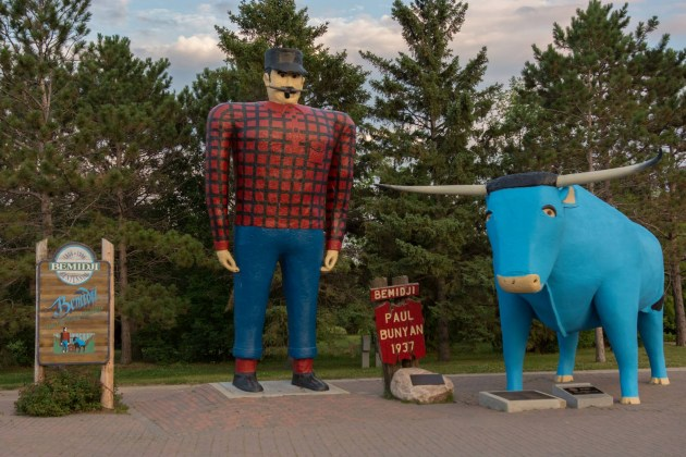 Playboy Claims Paul Bunyan Is Most Popular Fictional Character - Paul bunyan in us map