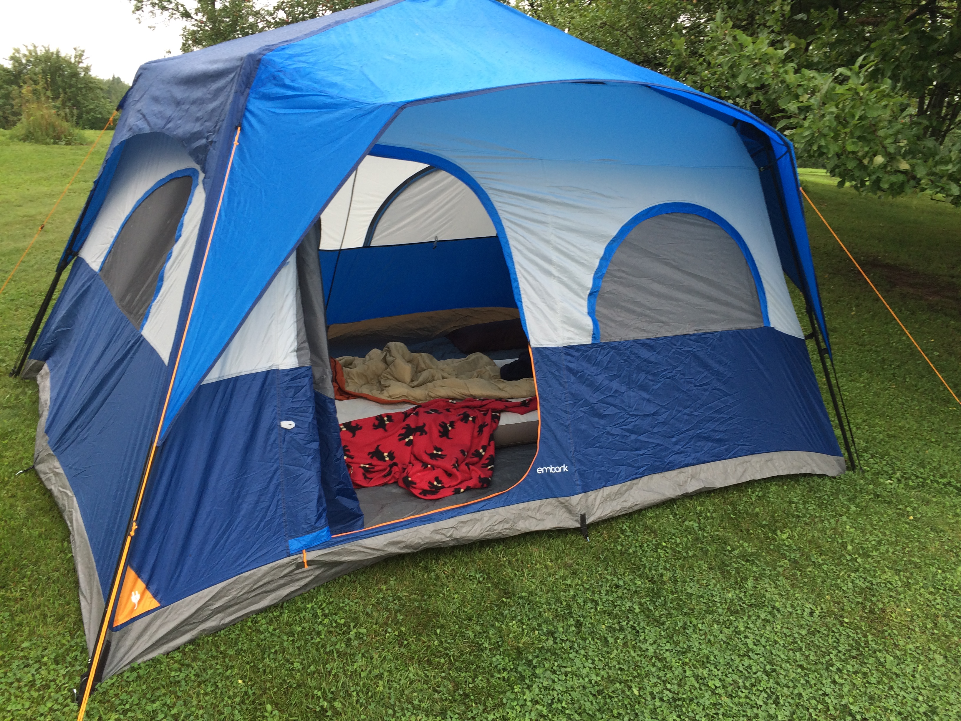 & Embark 8 Person Insta-Up Tent Review Yes It Is That Easy
