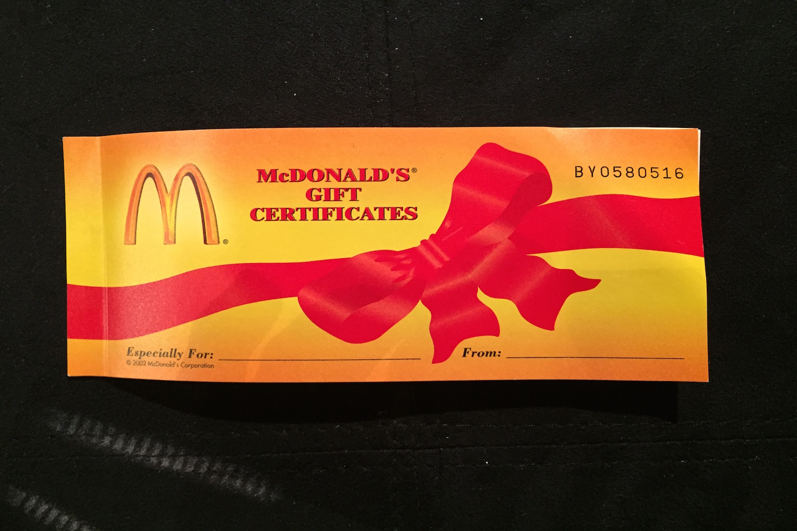 Do you think my mcdonalds coupon book is worth thousands 1betcityfo Image collections