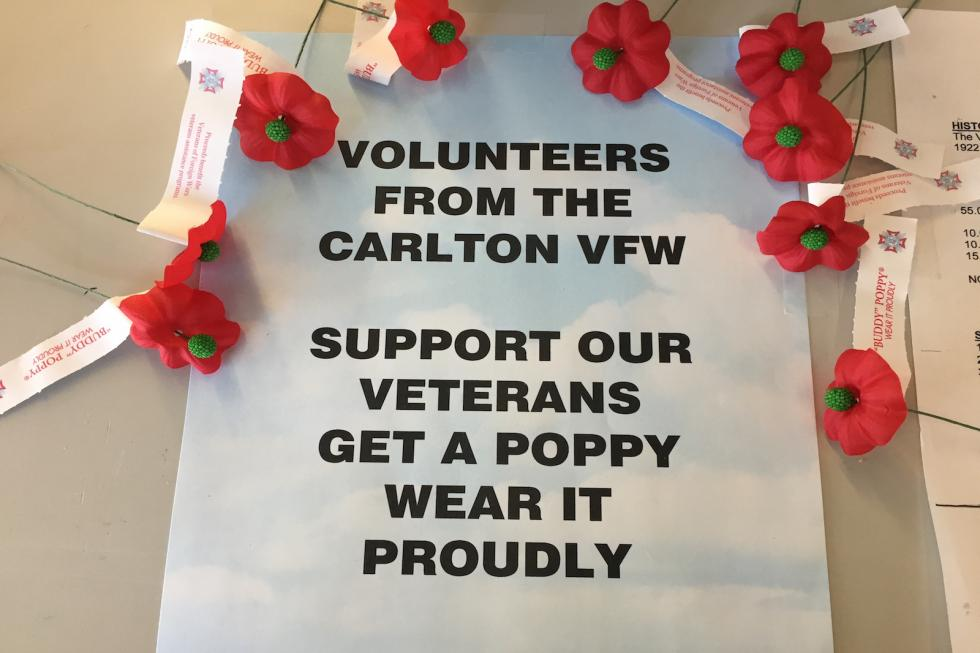 What is the significance of the vfw poppy flower mightylinksfo