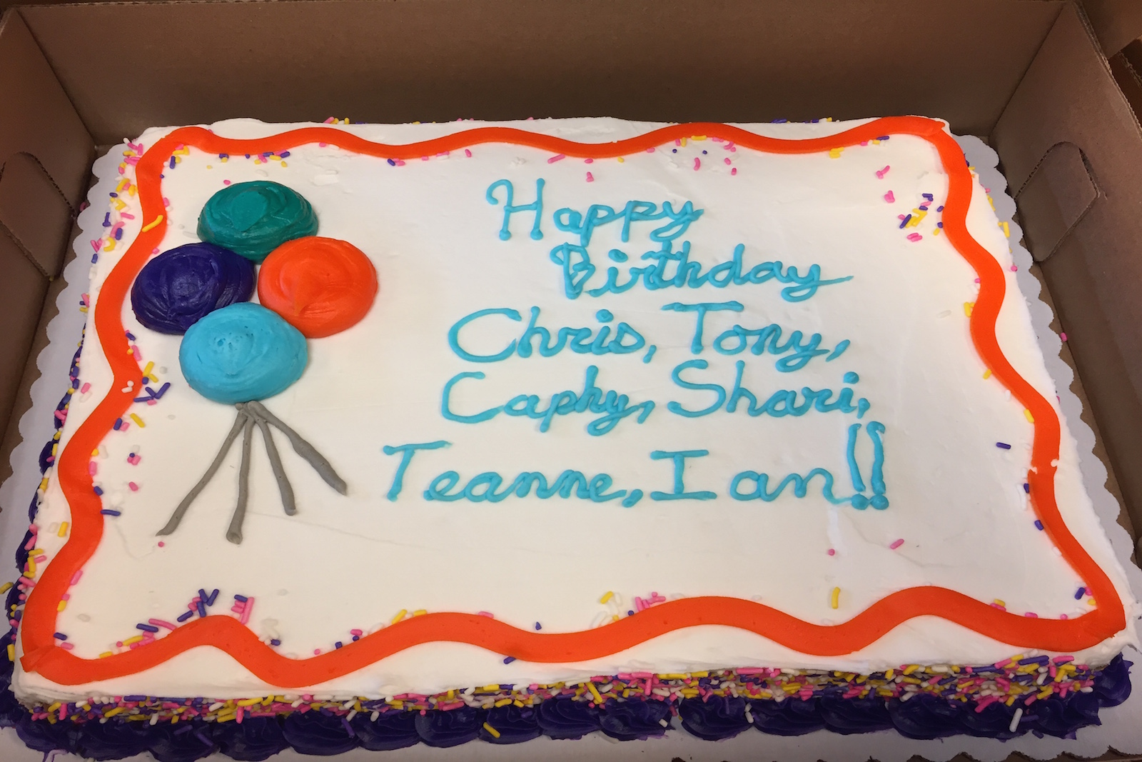 Epic Spelling Errors On Birthday Cake Leaves Us Shaking Our Heads